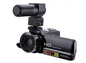 NEW in box with warranty 16 X Digital Camcorder with Boom