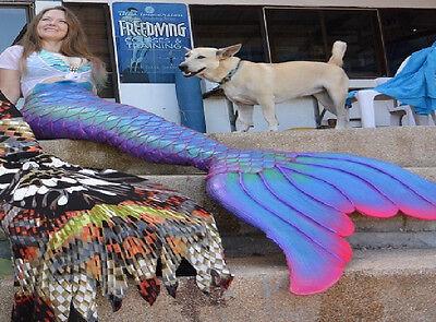 SALE!  CUSTOM MADE Professional Silicone Swimable Mermaid / Merman Tail monofin