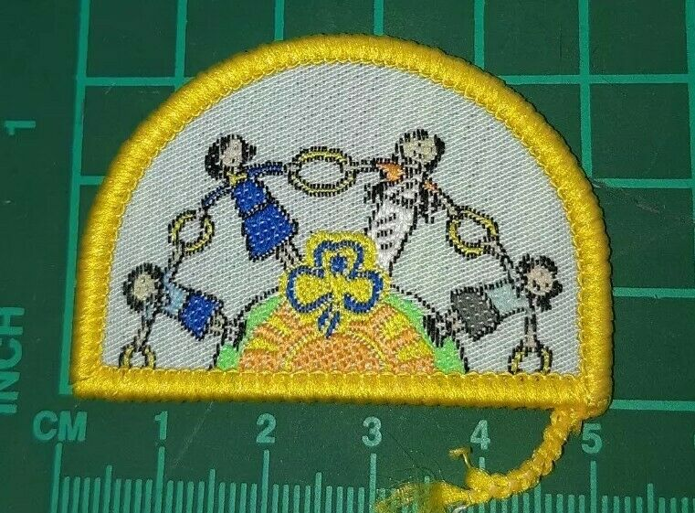 Girl Guides Australia Explore a Challenge Badge -  Guiding (world linked}