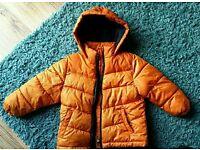 Vgc boy's winter coat, age 2-3 yrs