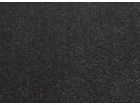Black carpet - minimum size 3.9 x 4.2 square metres - FREE to anyone who can collect