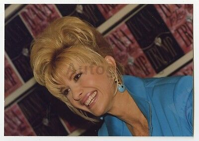 Ivana Trump   Vintage Candid Photo By Peter Warrack   Previously Unpublished