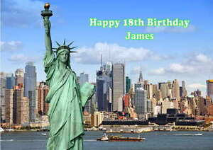 Personalised New York Birthday Card