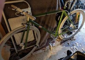 Specialized Globe Roll 2 Fixie and Freewheel (Medium) VGC Green Frame, White Wheels and Handlebars