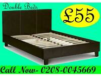 ***FREE DELIVERY***Brand New SINGLE DOUBLE OR KING SIZE LEATHER Bed CHEAPEST PRICE...CALL NOW