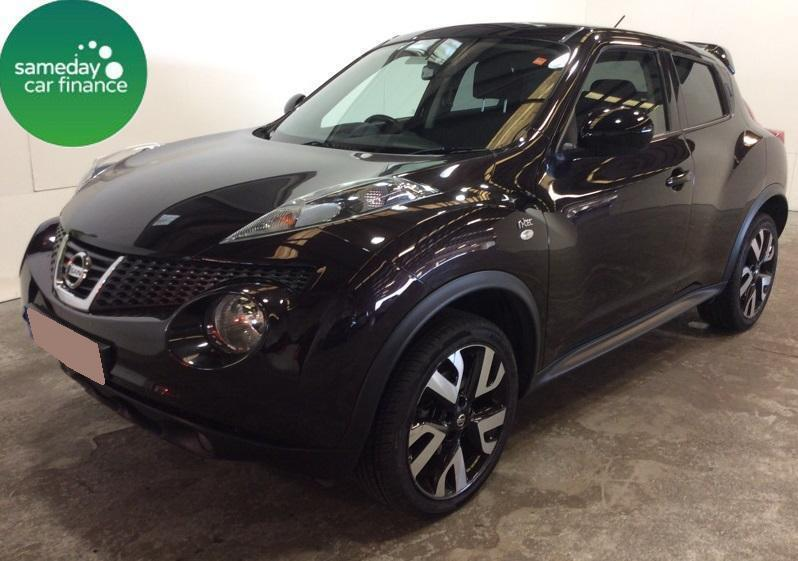 £214.60 PER MONTH BLACK 2013 NISSAN JUKE 1.6 N-TEC PETROL MANUAL