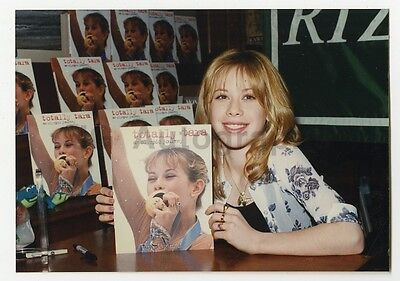 Tara Lipinski   Vintage Candid Photo By Peter Warrack   Previously Unpublished