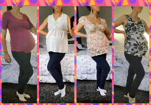 Maternity Tops (size Small)