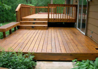 Decks,siding and fences.Great prices for your outside projects.