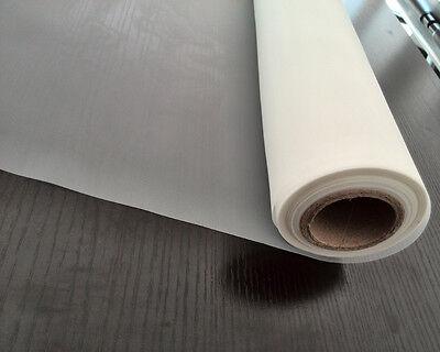 5 Meters 48t 120m White Polyester Silk Screen Printing Mesh Width 50127cm