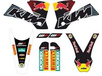 KIT KTM SX EXC 2004 Sticker best quality.