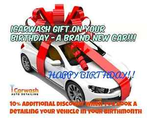 iCarwash Auto Detailing Birthday Special! - Additional 10% off