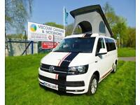 2016 Volkswagen FREESTYLE, 4 BERTH, ELEVATING ROOF CAMPER CONVERSION, MOTORHOME