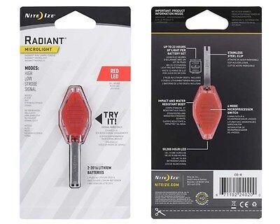 - Inova Translucent Microlight Keychain Red LED Light NEW CB-R