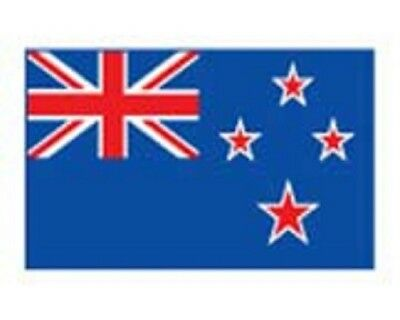 10 x NEW ZEALAND NATIONAL FLAG Temporary Tattoos