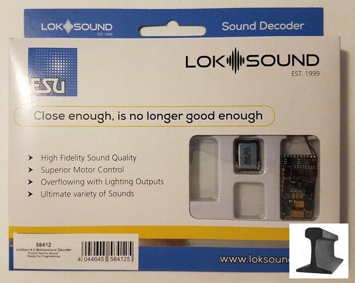 3W DCC MM Motorola ZIMO MX645P22 Sound-Decoder mit PluX 22 Schnittstelle 1,2 A