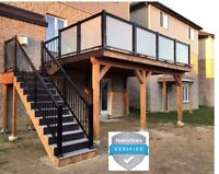 Supply & Install Aluminum Glass Picket Railings & more