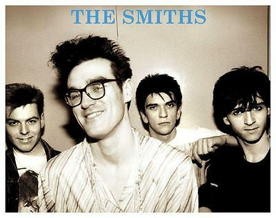 the SMITHS **POSTER**   Morrissey Johnny Marr Andy Rourke Mike Joyce