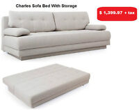 CHARLES SOFA BED WITH STORAGE