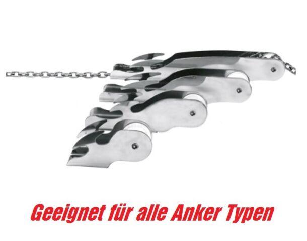 Ankerrolle bis 15kg Anker Bugrolle Bugspriet Bug Stopper Edelstahl