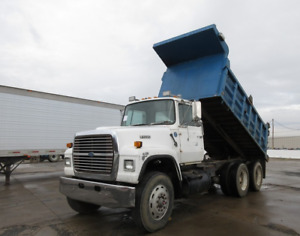 Tandem or Triaxle Dump Truck to buy order trade. Cash Buyer
