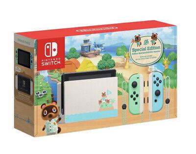 Nintendo Switch Animal Crossing New Horizons Edition 32GB Console