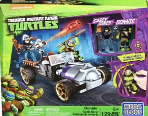 Mega Bloks Ninja Turtles Donnie Racer NIB