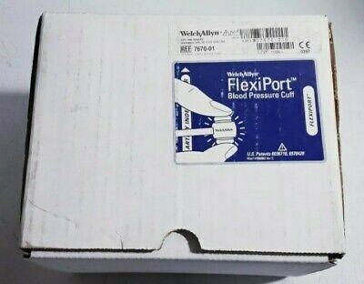 Welch Allyn Tycos Wall Aneroid 7670-01 Flexi Port Blood Pressure Cuff