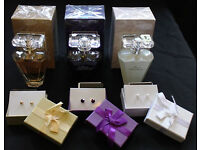 Avon Three perfumes with free matching earings £7.00 each