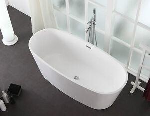 Modèle de bain autoportant 63'' et à accès latérale