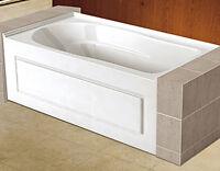 NEW – Acrylic alcove bathtubs 60''