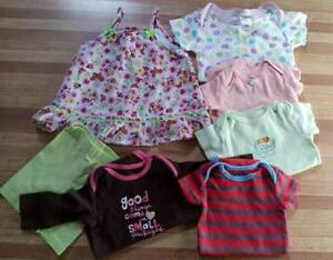Small lot of Baby Girls Clothing - sizes 3-12 months