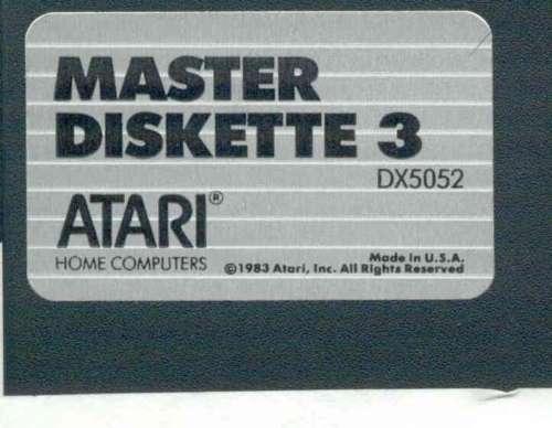 ATARI DOS 3.0 MASTER 5 1/4 DISKS 800/XL/XE 4 Disk NO SLEEVES