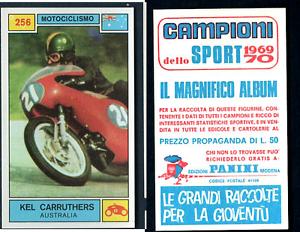 Kel-Carruthers-AUS-Panini-Moto-Racing-CARD-1969-Mint-n-256-Rare