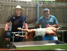 Stainless Spit Rotisserie (motorised) with 20 bags of Heatbeads Annerley Brisbane South West Preview
