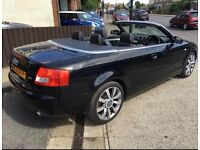 Audi A4 Convertible Electric Roof 1.8T Petrol