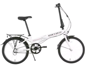 Carrera Transit Folding Bike Cycle Fold Up