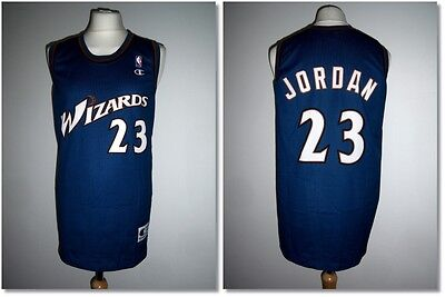 Rare Washington Wizards #23 Jordan NBA Jersey Champion Authentic Apparel XL Exc