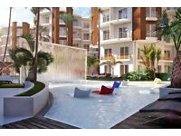 Modern apartment with swim up bar, Spa, jaccuzzi, large pool in Hurghada, Egypt