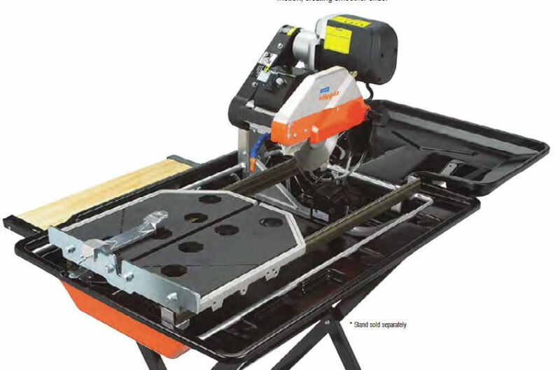 "Norton CTC1020XL 10"" Tile Saw 2 HP 115V Paver Block Ceramic Glass Brick Stone"