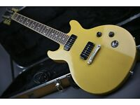 2015 GIBSON LES PAUL SPECIAL DOUBLE CUTAWAY TRANS YELLOW & ORIG GIBSON CASE