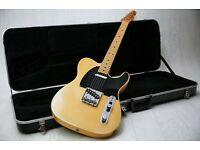 1977 Fender USA Telecaster Vintage Blonde Original & Original Hard Case
