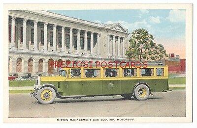 MITTEN MANAGEMENT GAS ELECTRIC BUS Phila & NYC Wilmington DC Atlantic City 1920s