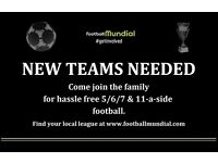 Crawley 6-a-side - Teams Needed!