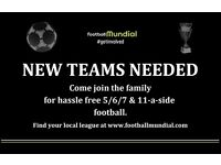 Scunthorpe 6-a-side - Teams Needed!