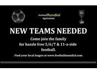 Scarborough 6-a-side - Teams Needed!