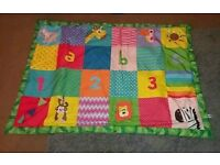 Sensory baby mat