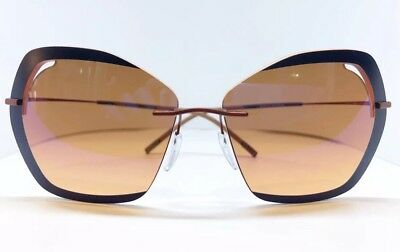 Silhouette 9910/75 UK Titanium sunglasses Made in Austria NIC *free Shipping*