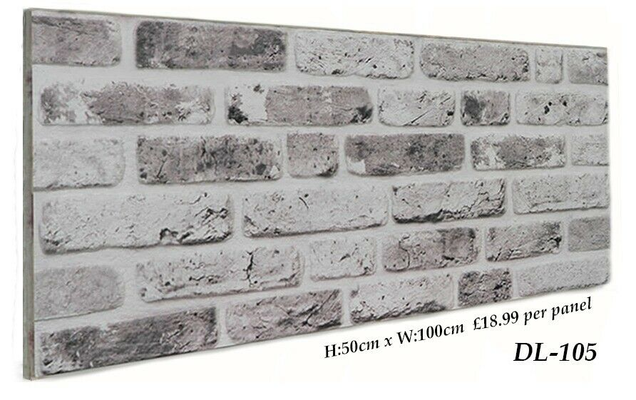 3d Brick Effect Wall Panels Decorative Wall Ceiling Tiles Cladding Polystyrene Panel Tile In North London London Gumtree