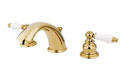 Kingston Brass KB972B Victorian Widespread Lavatory Faucet New